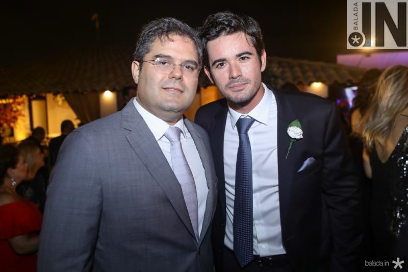 Edson Queiroz Neto e Ivens Dias Branco Neto