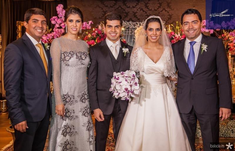 Geraldo Laprovitera, Flavia Simões, Pedro e Carla Garcia, Andre Laprovitera