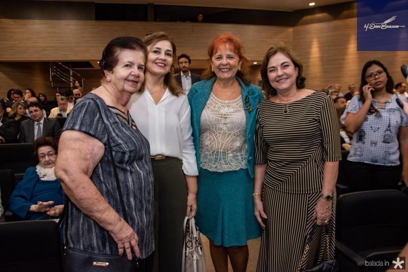 Elisa Gradvohl, Rosangela Cavalcante, Fatima Duarte e Ana Studart