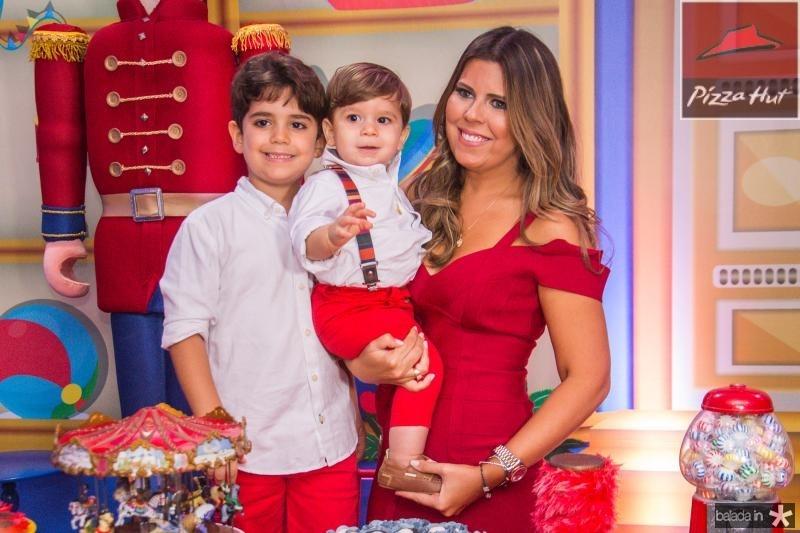 Leozinho, Lucas e Marina Albuquerque
