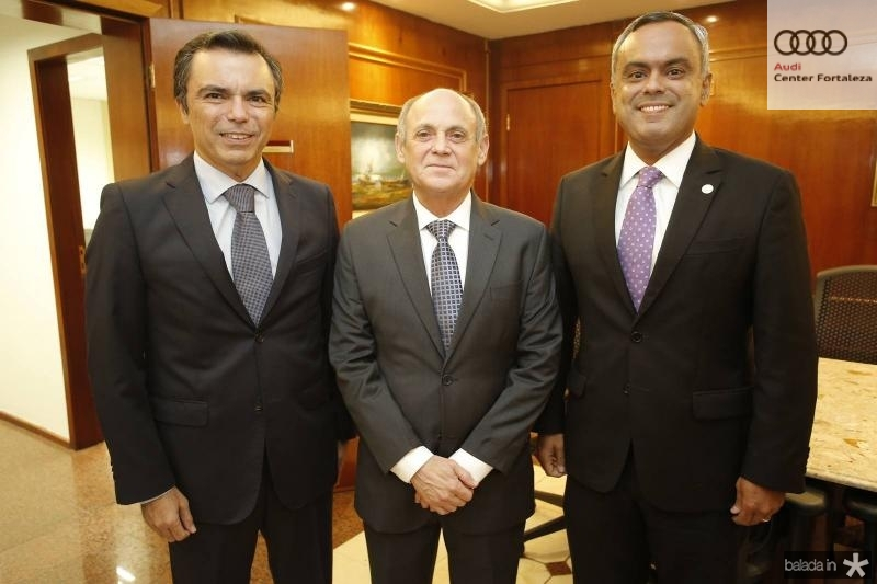 Juvencio Viana, Gladyson Pontes e Marcelo Mota