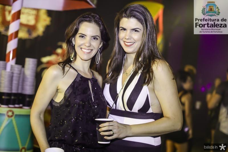 Michele Sucupira e Luciana Duarte