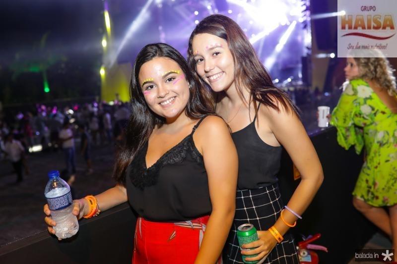 Laura Andrade e Julia Araujo