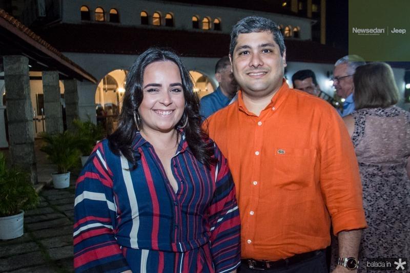 Monaliza e Victor Frota Pinto Filho