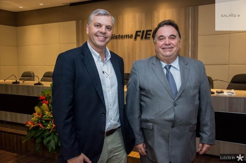 Lucas Ferianci e Carlos Alberto Lancia