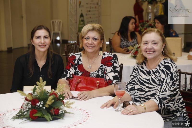 Edna Camara, Priscila Cavalcante e Lucia Araujo