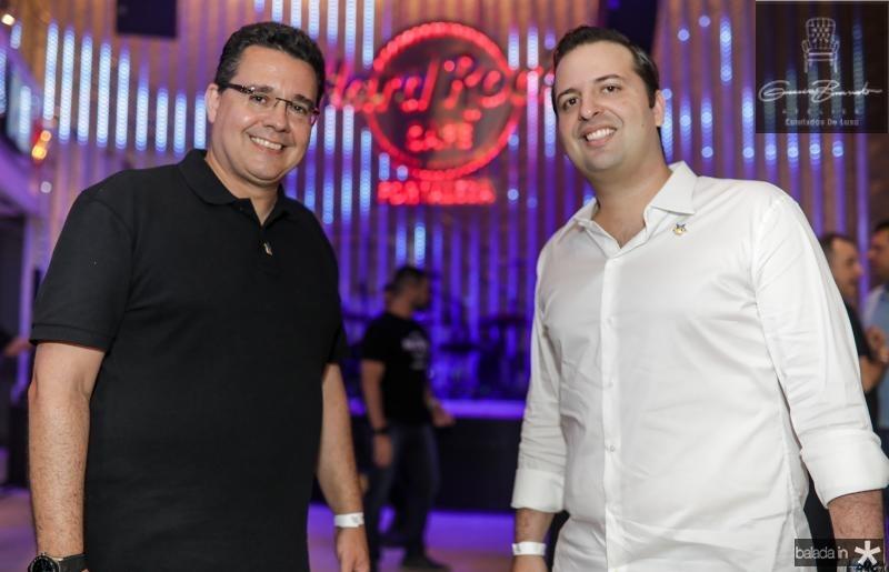 Samuel Sicchierolli e Rodrigo Ponte