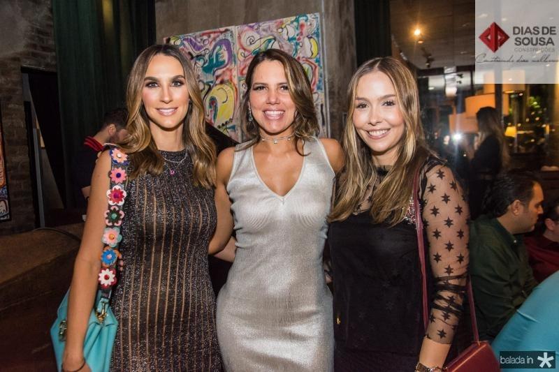 Marcela Carvalho, Ana Carolina Fontenele e Rafaella Asfor