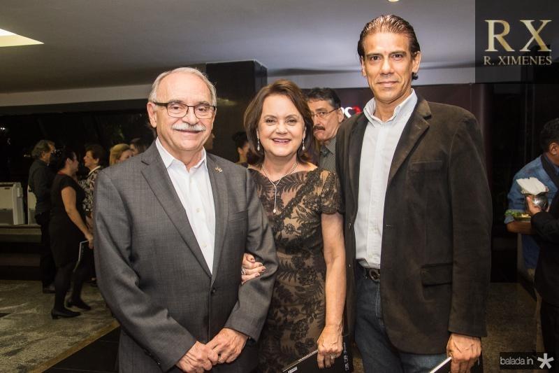 Ednilton Soarez, Leninha Soarez e Wilson Loureiro