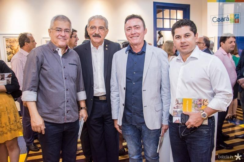 Paulo Cesar Noroes, Walter Cavalcante, Darlan Leite e Pompeu Vasconcelos