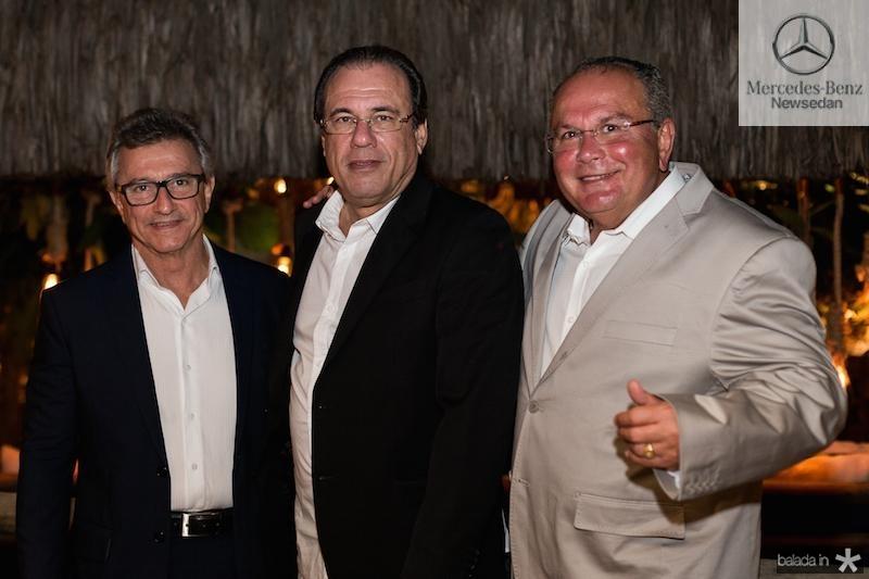 Jose Neto, Claudio Brasil e Igertenio Machado