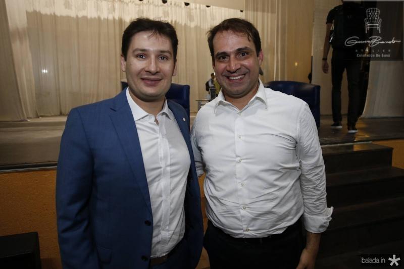 Marcos Sobreira e Salmito Filho