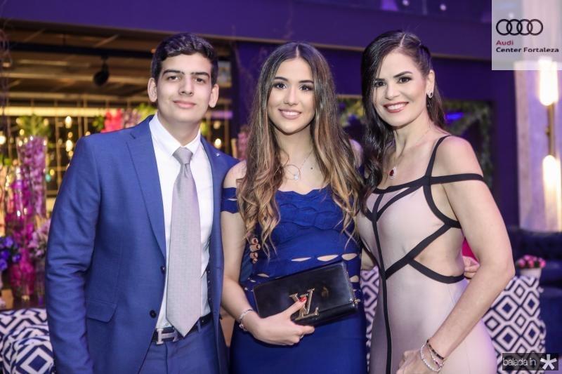 Davi Melo, Marcela e Valeria Arrais