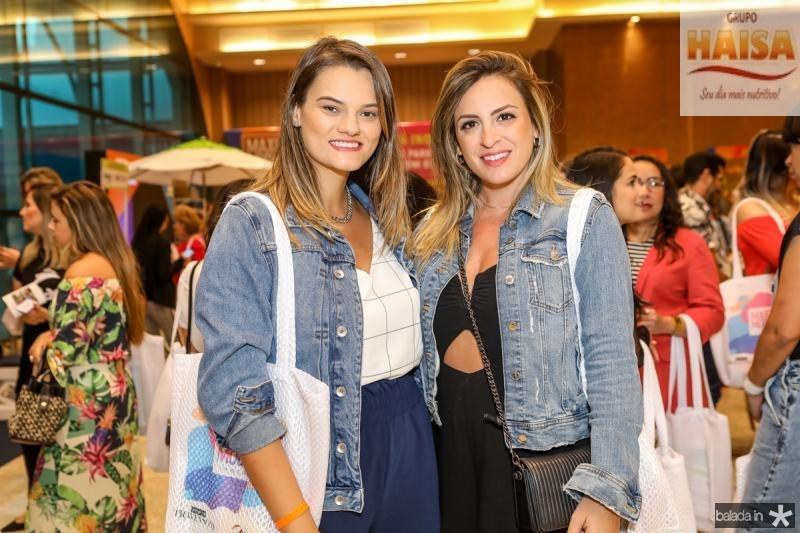 Camila Vasconcelos e Isadora Costa