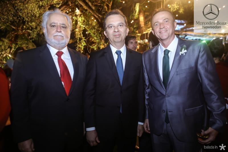 Alfredo Turbay, Marco Oliveira e Washington Araruna