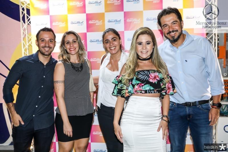 Andrei Coutinho, Fernanda Madeira, Juliana Araujo, Brenda Riveli e Marco Farias