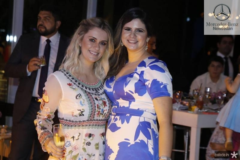 Marina Montenegro e Jamilly Rodrigues