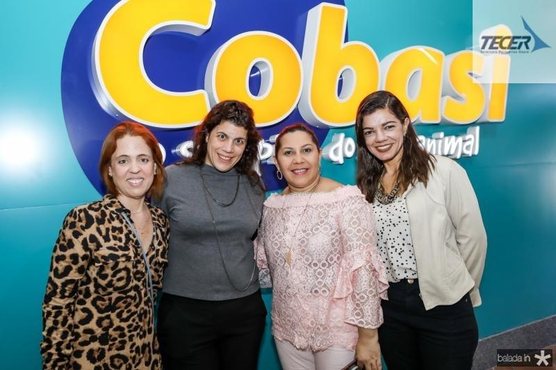 Rachel Mendonça, Manoela Artigas, Elisabeth Lima e Poliana Brandao