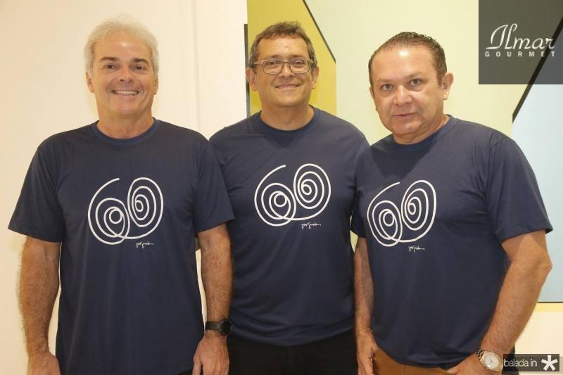 Eduardo Rocha, Jose Guedes e Max Camara