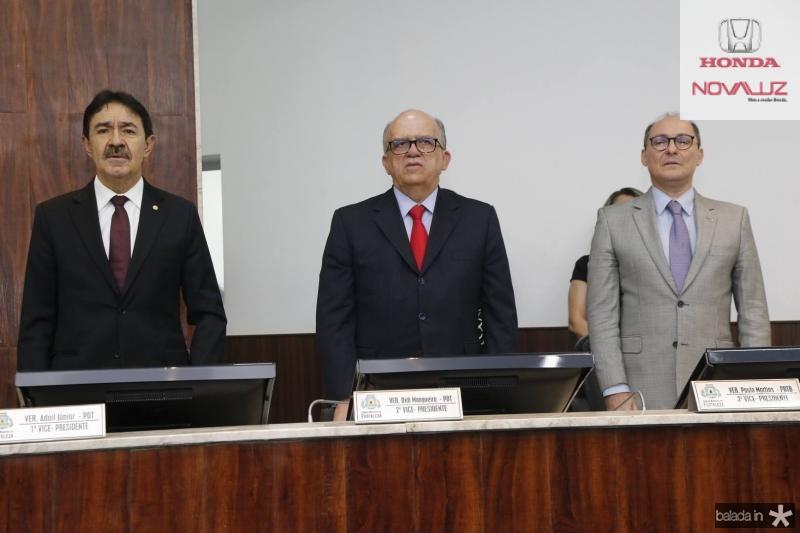 Raimundo Gomes de Matos, Fernando Ximenes e Alcides Saldanha