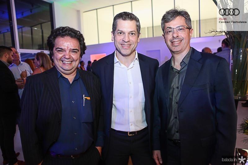 J Pompilio, Rodrigo Tramontina e Andre Marinho