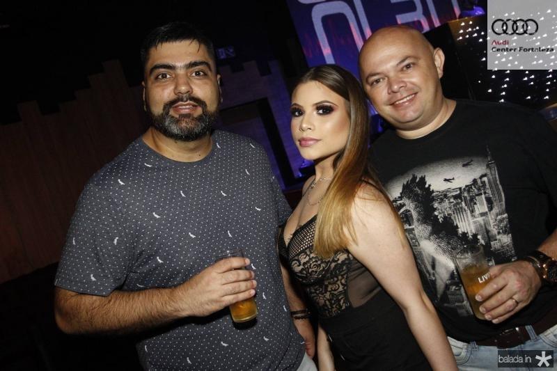 Diego e Alice Tavares e Antonio Ricardo