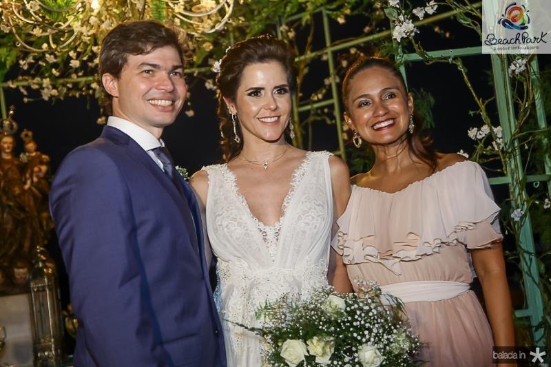 Eduardo Lima, Cristina Brandao e Nazare Santiago