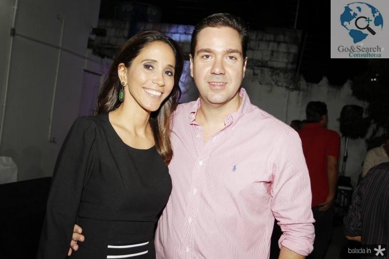 Nadia e Eduardo Bismarck