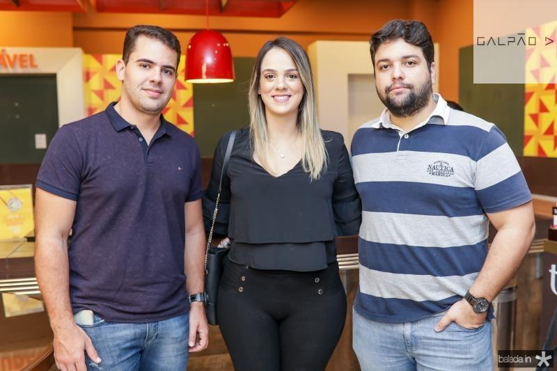 Lucas Nogueira, Tallyta Nogueira e Gustavo Freitas