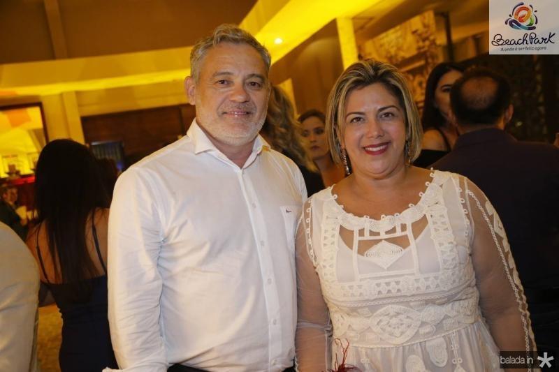 Edson Barbosa e Adriana Joca