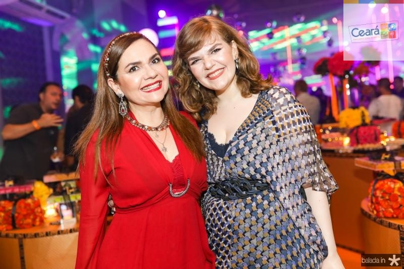 Sara e Maria Clara Mapurunga