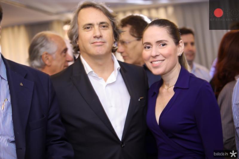 Willy Muller e Agueda Muniz