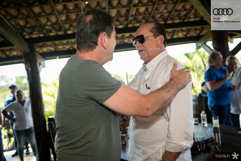 Cid Gomes e Rafael Leal