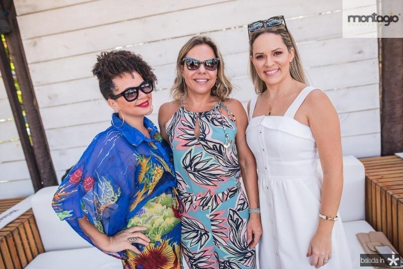 Cintia Nascimento, Cynthia Gomes e Mirela Tome