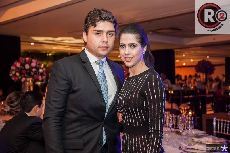 Igor Otoch e Lorena Aragão