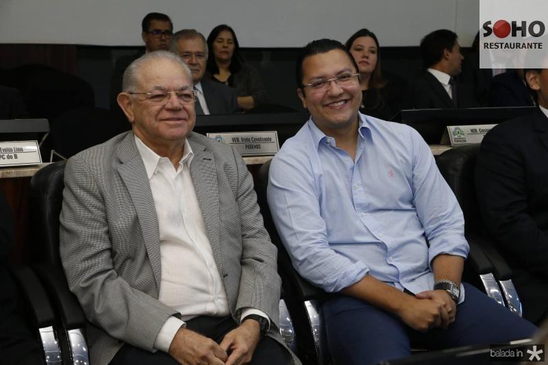 Teixeira Rego e Leopoldo Cabral