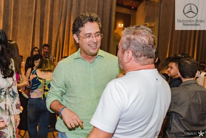 Murilo Pascoal e Claudio Silveira