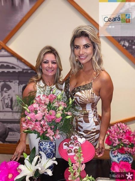 Tatiana Luna e Anelise Barreira .