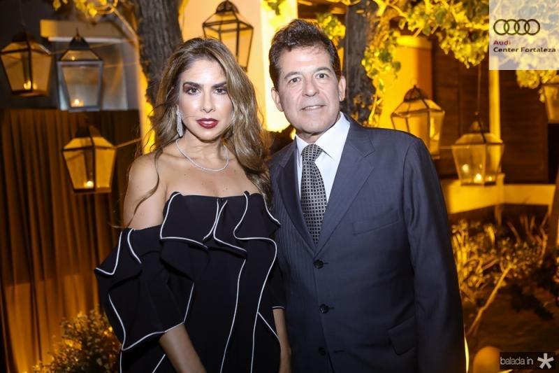 Rafaela e Deibe Otoch