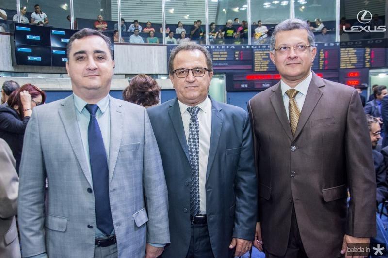Cassio Franco, Gilvan Mendes e Fernando Oliveira