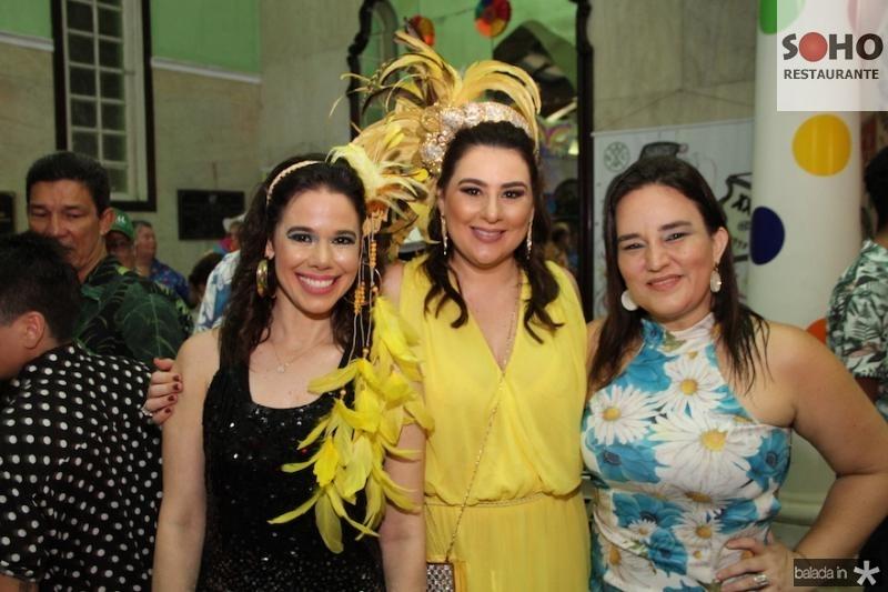 Mirela Tomas, Lia Pinheiro e Raquel Palhano