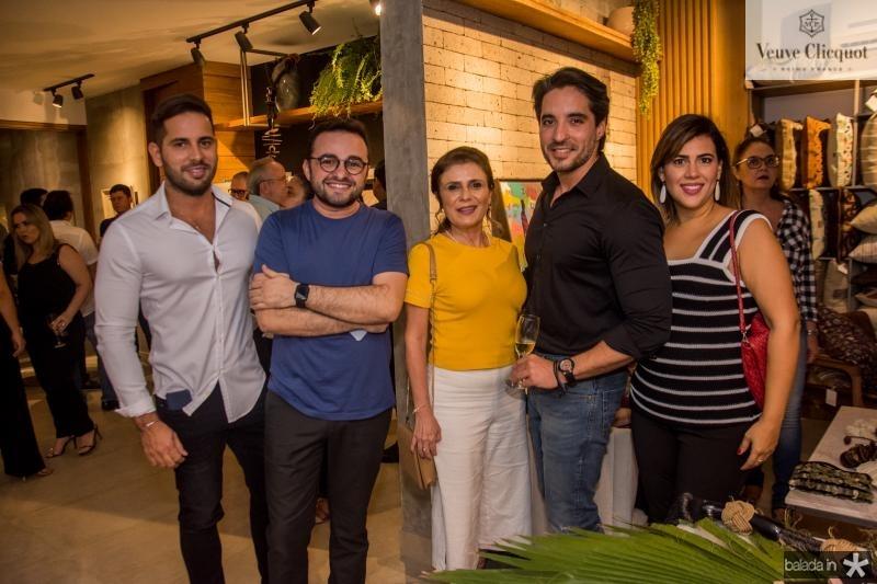 Veri Bessa, Ramiro Mendes, Adelia Albuerque, Rodrigo porto e Mirian Bastos