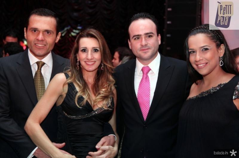 Eduardo e Melaine Diogo, Pedro e Lara Fiuza