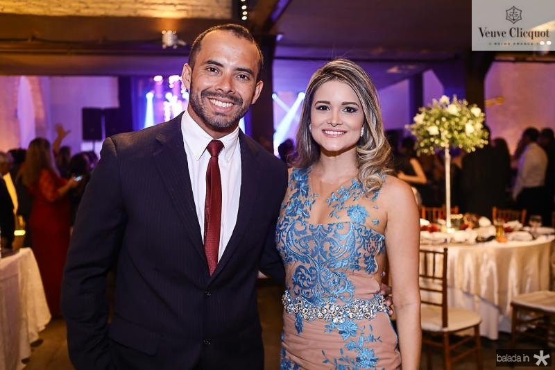 Rafael Rodrigues e Naiana Barros