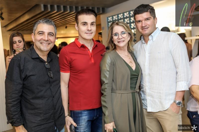 Roberto Dias, Rodrigo Maia, Sohia Linhares e Davi Moura