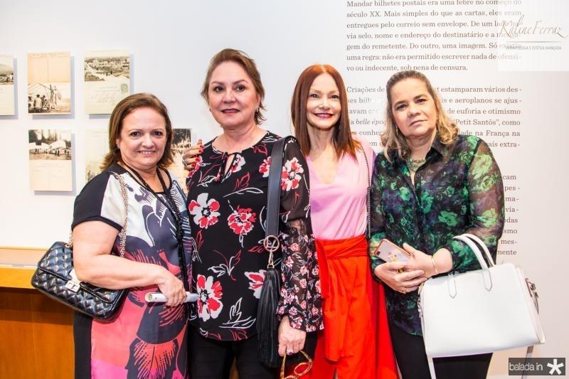 Jaqueline Praciano, Paula Frota, Carlota Fiuza e Cristina Lobo