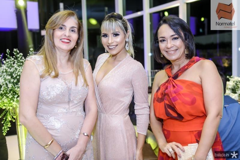Silvana Carvalho, Grazi Nogueira e Ticiana Almada