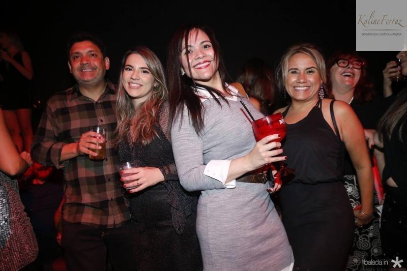 Bruno Queiroz, Juliana Bastos, Alessandra e Alessandra Carvalho