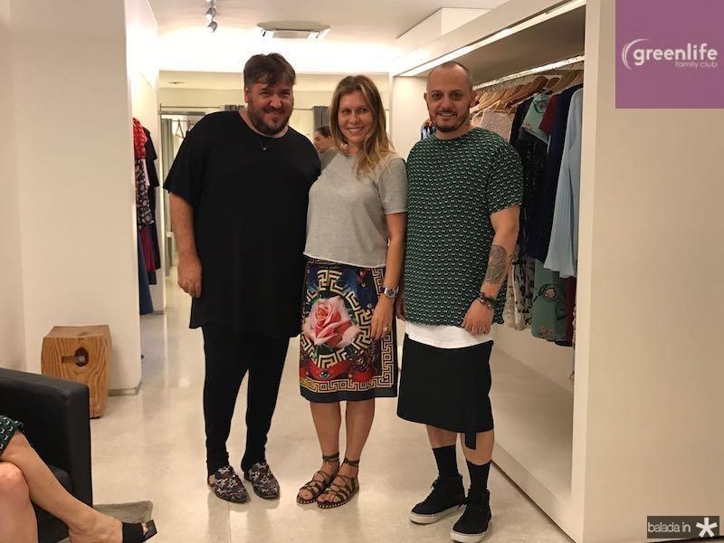 Leonan, Alessandra Arraz e Giuliano