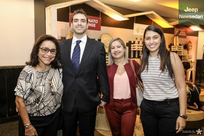 Adenil Falcao, Paulo Mindlin, Cidinha Carvalho e Tais Castro